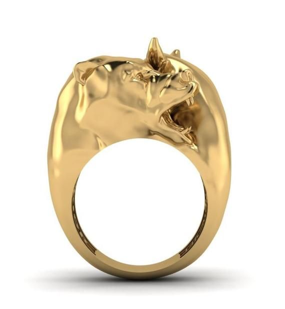 Wall Street Warrior Bull And Bear Ring Etsy Rings Things To Sell Warrior