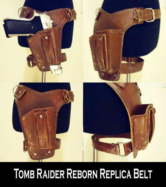 Lara Croft Tomb Raider Revamp 2012 Gun Belt Replica on Etsy, Sold