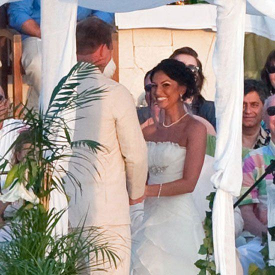 Pin for Later: The Ultimate Celebrity Wedding Gallery  The Bachelor's Melissa Rycroft wed Tye Strickland in Mexico in December 2009.