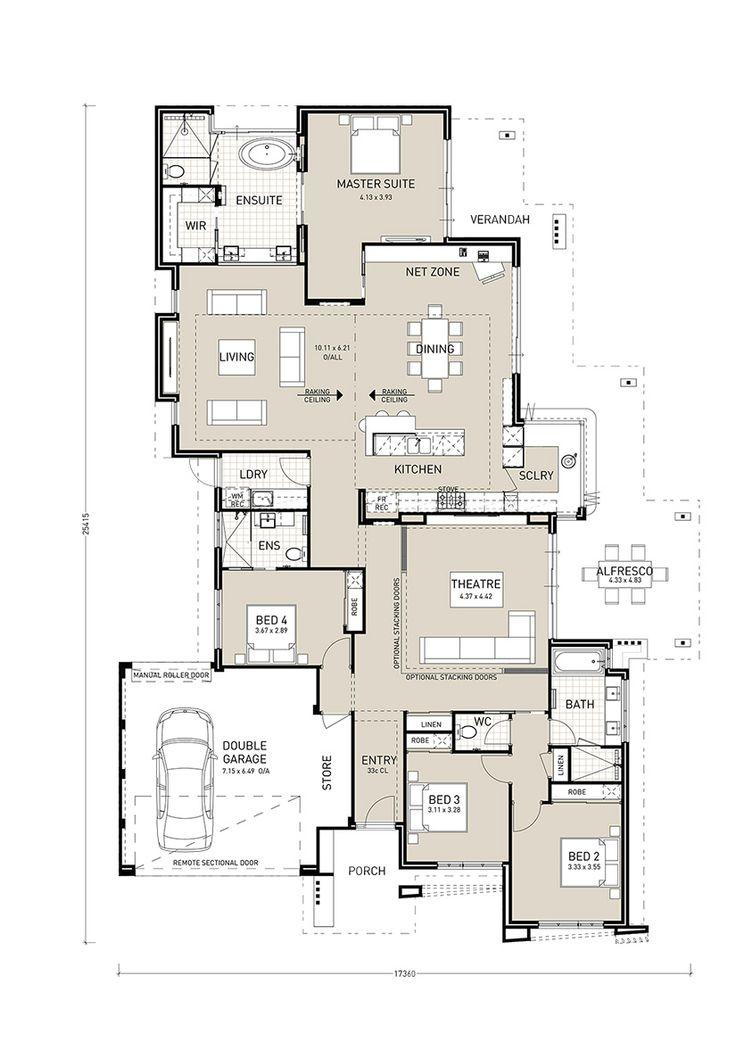 Kitchen Floor Plan Design: Closed Kitchen Floor Plans