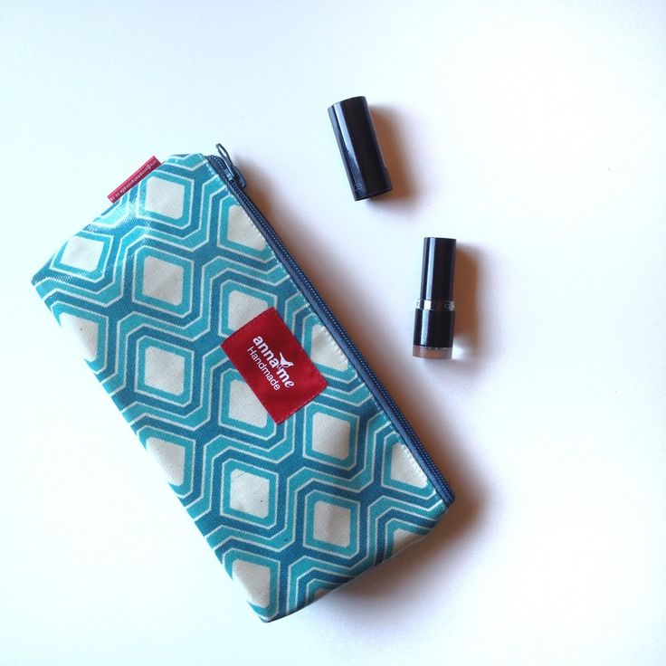Make-up pouch - The Official Anna Me Handmade Online Shop - Creative Accessories Made Beautifully. Browse our collection and buy directly from the site. Retailers welcome! #accessories #makeup #pouch #bag #cosmetics #travel