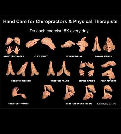 Hand exercise for massage therapist, chiropractors, and ...