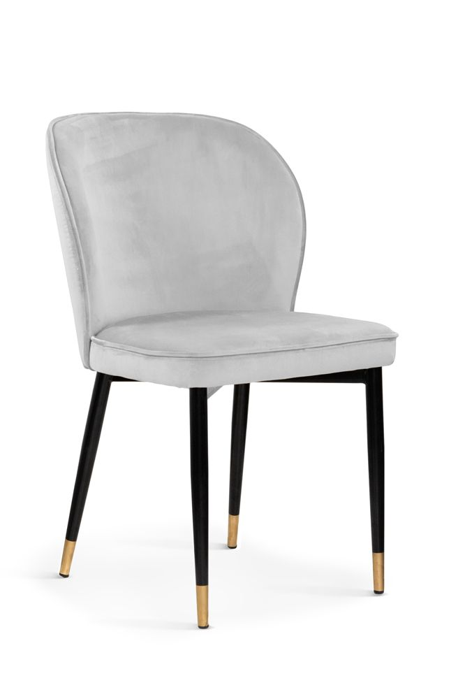 Krzeslo Linei Srebrne Furniture Chair Dining Chairs