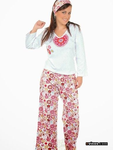 Mis puntadas de mujer: Pijamas para dama en invierno