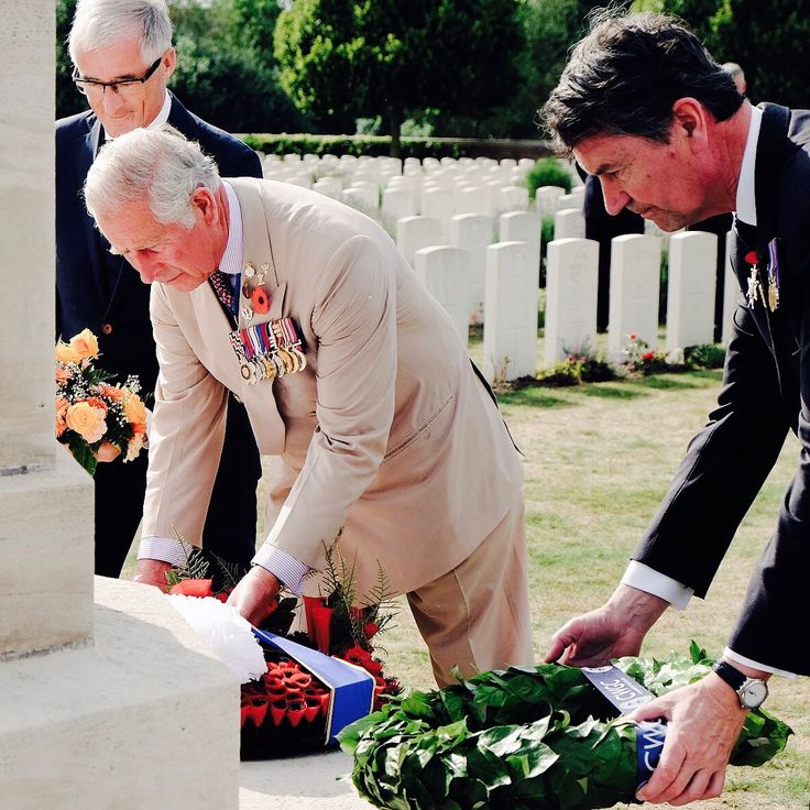 31 July 2017 The Prince of Wales and Sir Timothy Laurence visited Artillery Wood Cemetery, where many of the Welsh soldiers who lost their lives in the Battle of Passchendaele are buried. #BritishRoyalty #BritishMonarchy #BritishRoyalFamily #Royals #Royalty #RoyalFamily #PrinceCharles #CharlesWindsor #CharlesPrinceofWales #PrinceofWales #HRHThePrinceofWales #HisRoyalHighnessThePrinceofWales #SirTimothyLaurence #TimothyLaurence  via ✨ @padgram ✨(http://dl.padgram.com)