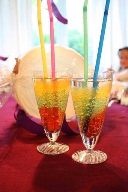 Lizas matverden-hverdag, fest og moro: Morsom gelé drikke til barnebursdag eller andre festligheter
