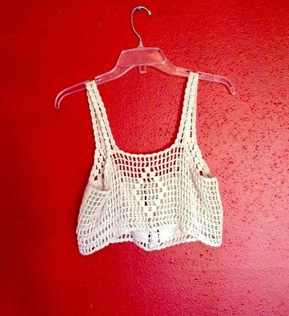 Crocheted vest by Kerencia on Etsy