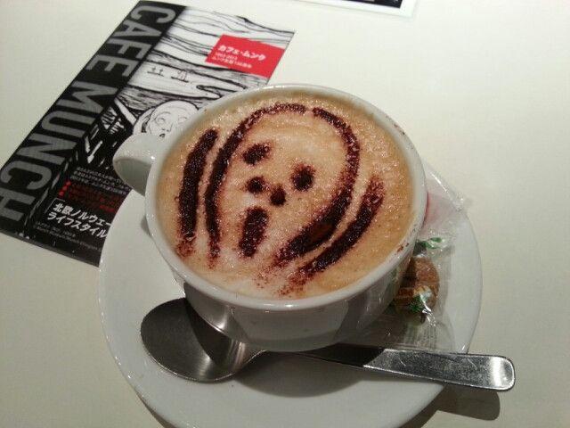 ~ムンク生誕150周年記念「カフェ ムンク」が渋谷ヒカリエにできました~ スランジェ日記