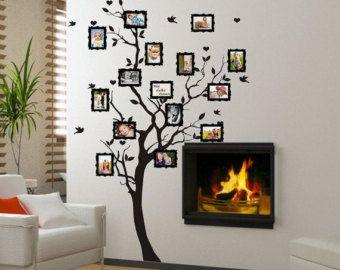 Sticker - Family tree for photos  (familietræ,stamboom,stammbaum,albero genealogico,familietre,släktträd)(3397n)