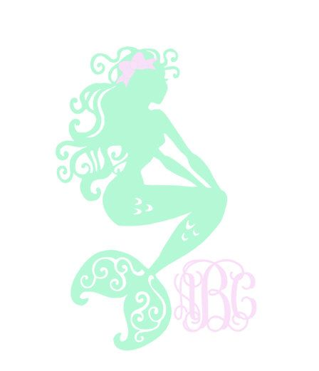 Best Mermaid Decals Images On Pinterest Car Decals Mermaids - Mermaid custom vinyl decals for car