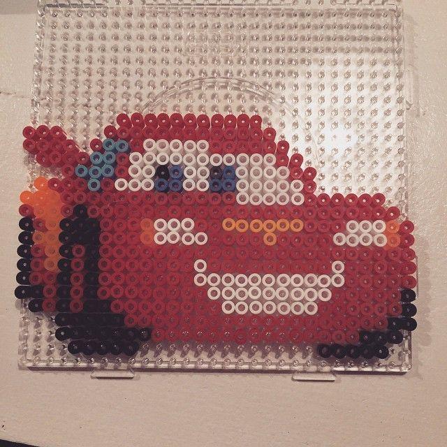McQueen Cars hama beads by belloepo