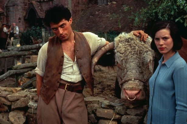 Rufus Sewell and Kate Beckinsale in the 1995 film adaptation of Stella Gibbons' novel 'Cold Comfort Farm.'