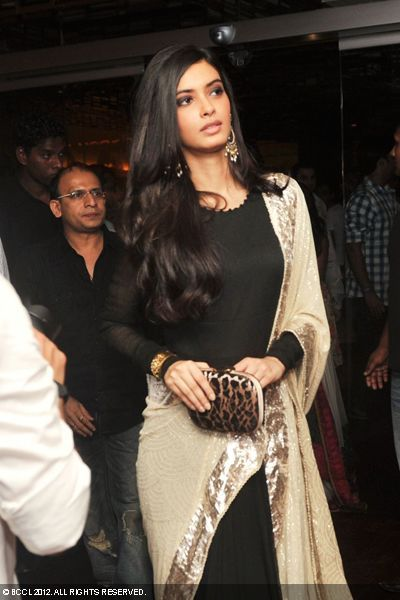 Diana Penty at the premiere of the movie 'Cocktail' in Delhi.