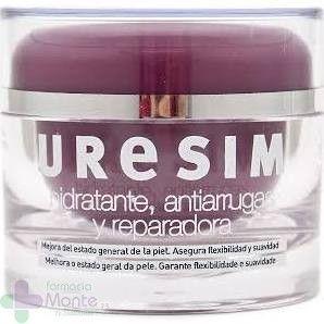Crema #antiarrugas con #ácido #hialurónico, #manteca de #karité y #rosa #mosqueta, ¿se puede pedir más? Descubre aquí #URESIM CREMA ANTIARRUGAS REPARADORA