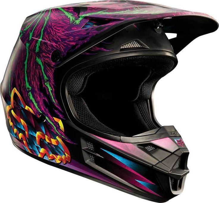 2015 Fox Racing V1 Dragnar Motocross Dirtbike MX ATV Snell DOT Boys Youth Helmet
