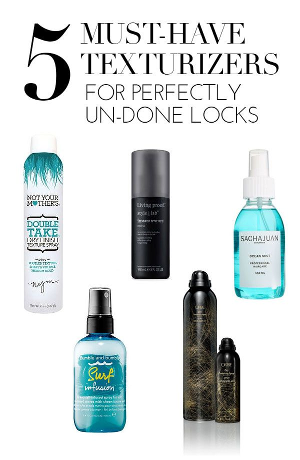 Our Must-Have Texturizers For Perfectly Un-Done Locks | via @glitterguide theglitterguide.com