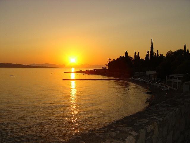 A beautiful Spetses sunrise