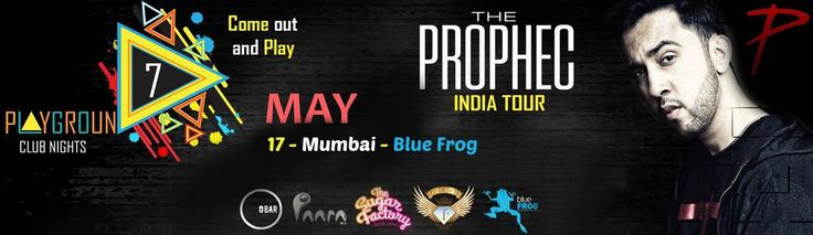 The PropheC India Tour Create music which resonates with people's hearts Come out and Play. Book Now: http://www.meraevents.com/event/six-blind-men-elephant-social-media-in-todays-world&Ucode=DMSY   #Delhi #ClubNights #Obar #BlueFrog #ClubPaara