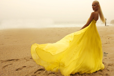 yellow dress: Fashion, Style, Color, Mellow Yellow, Dresses, Beach, Yellow Dress