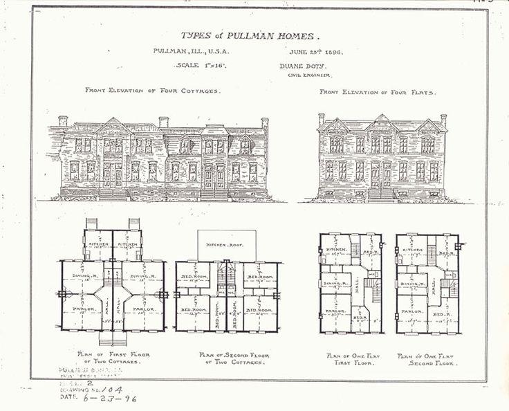 English Row House Floor Plan