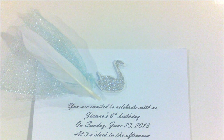 Lake Themed Wedding Invitations: 17 Best Images About Swan Lake Theme.♥ On Pinterest