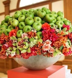 Apple flower display