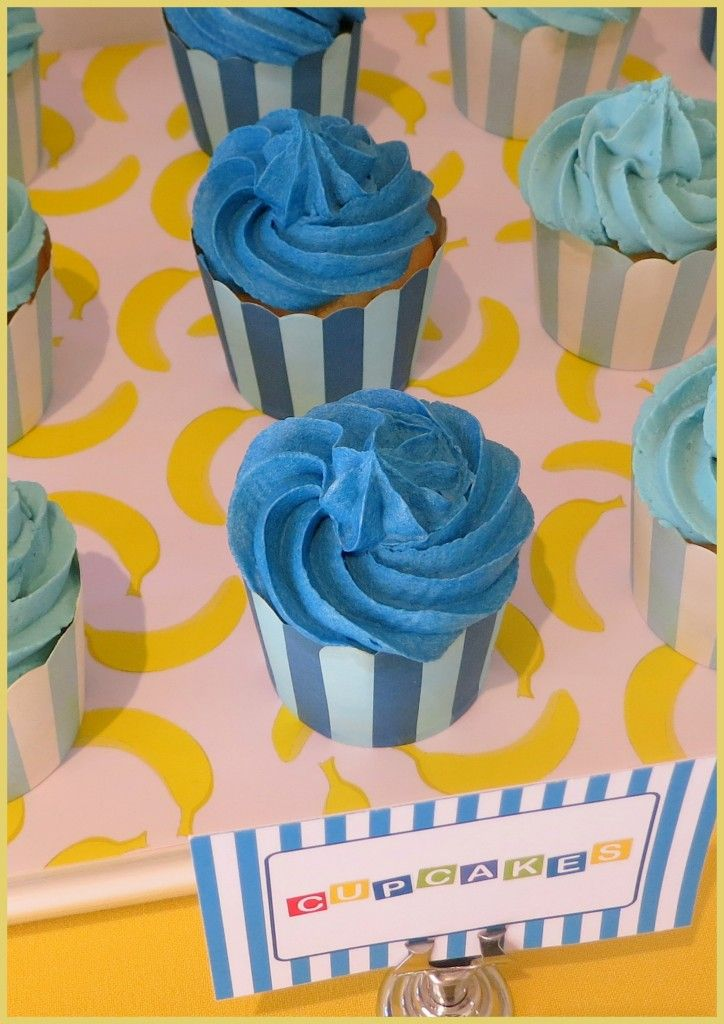 These stripy cupcakes are perfect for your party!