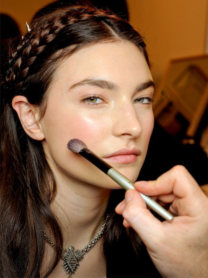 Ever Tried Applying Cream Blush With a Brush? | Beautyeditor