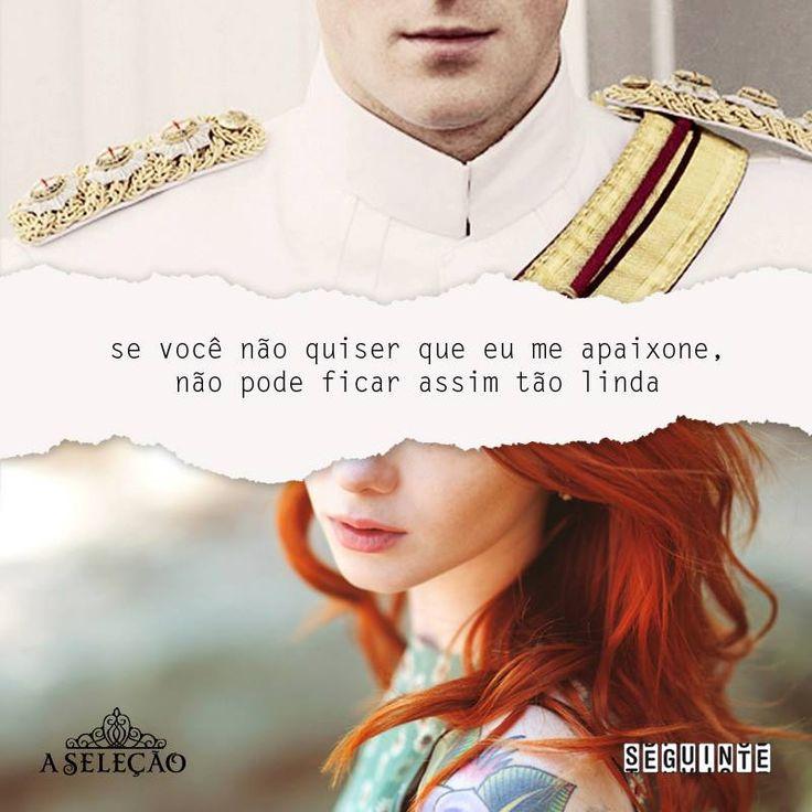 """""""Se você não quer que eu me apaixone, não pode ficar assim tão lindo"""""""