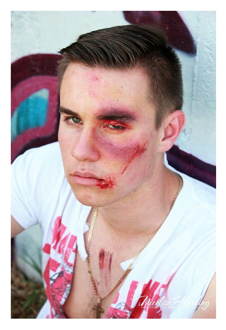 Bruised shoot with MUA Jodie von Valkenhausen