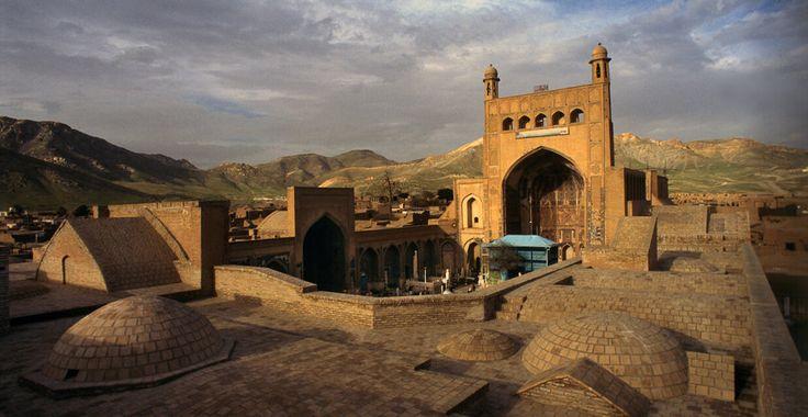 Khwajah Abdallah Ansari shrine and environs in Gazargah (near Herat) Afghanistan