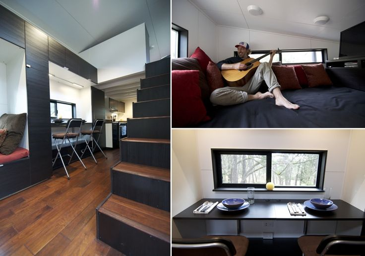 Tiny Home Designs: 256 Best Images About Prefab & Tiny Homes On Pinterest