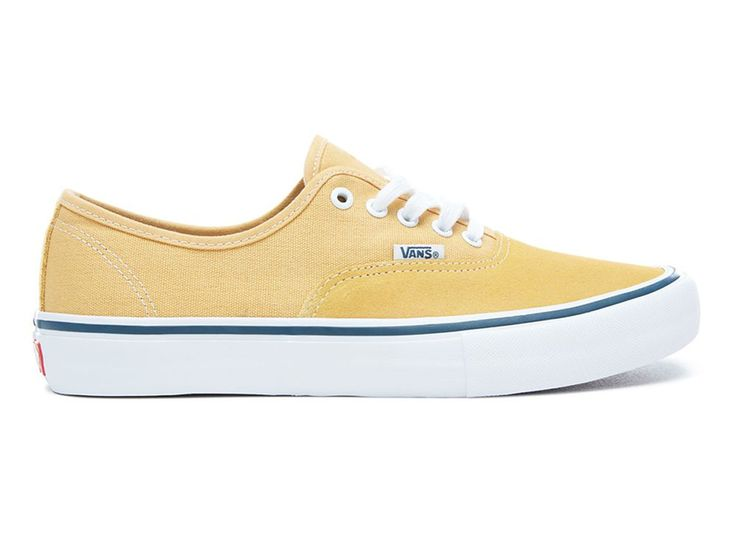 "Vans ""Authentic Pro"" Shoes - Ochre/White 
