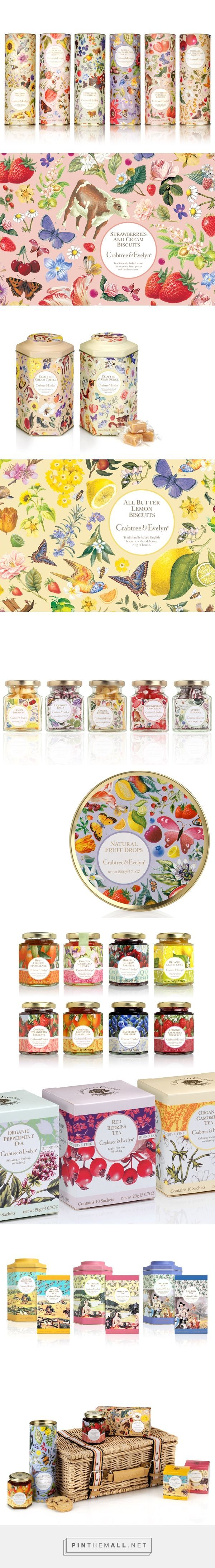 Crabtree & Evelyn Food Range on Behance by Caroline Phillips curated by Packaging Diva PD. Packaging love : )