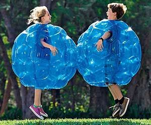 Inflatable Bumper Balls. Very cool website as well. Lots of neat stuff!