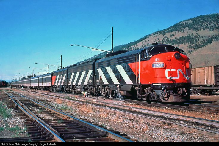 RailPictures.Net Photo: CN 6508 Canadian National Railway GMD FP9A at Jasper, Alberta, Canada by Roger Lalonde