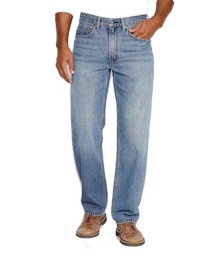 Levis 550 Relaxed Fit Denim Jeans 32 x 29 Lost Blue 00550-0056 32x29 #Levis #550 #jeans