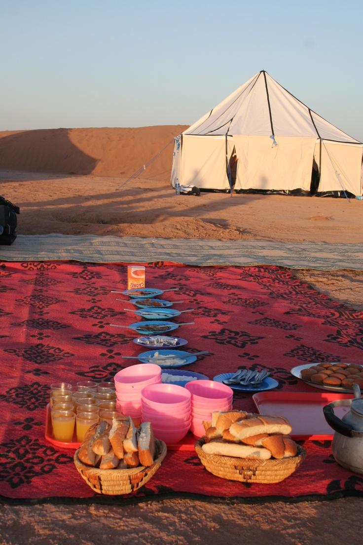 Breakfast Desert Style