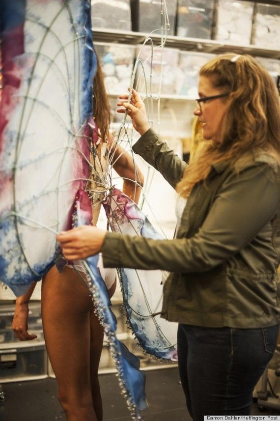This particular spectacle is kind of gross, but the process is interesting...Making Victoria's Secret Angel Wings...