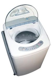 Portable Washer is a mini washing machine that is easy to operate. It is suitable for students or people who live in an apartment. Haier Portable Washer HLP21N one of the most popular products at the moment.