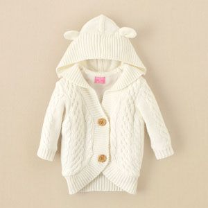 newborn - girls - cable-knit cardigan | Children's Clothing | Kids Clothes | The Children's Place ($20-50) - Svpply