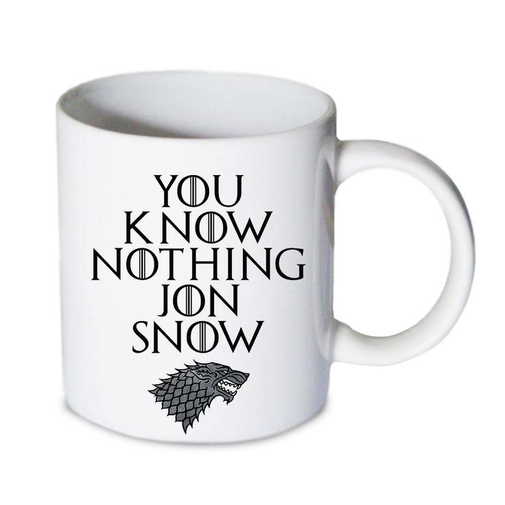 Coffee mug - You Know Nothing Jon Snow Mug - Custom Coffee mug - Ceramic mug by babydragonshop on Etsy   #mug #harry #potter #mugs #cups #coffee #tea #hot #sublimation #quote #gift #birthday #custom #lyric #band #mom #sister #men #women #11oz #Ceramic #white #belcher #burger #yonce #beyonce #jon #snow #hogwart