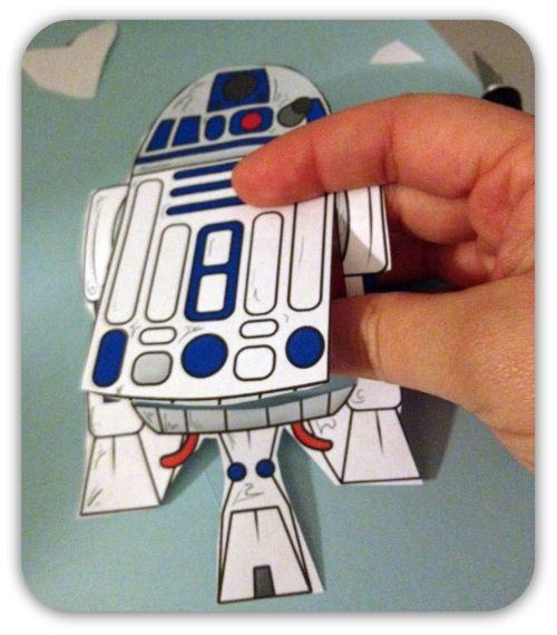 GREAT GEEKY AND EASY STAR WARS CRAFT FOR THE KIDS!