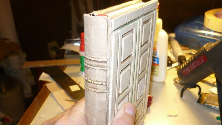 River Song's book from Doctor Who - tutorial