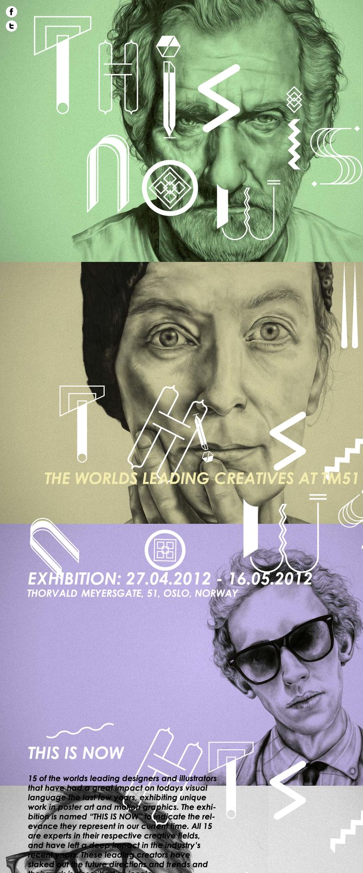 THIS IS NOW http://www.thisisnowexhibition.com/ #parallax #scrolling #fullscreen