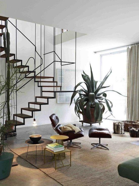 crazy cool staircase #home #architecture #interiordesign #homedecor #midcenturymodern