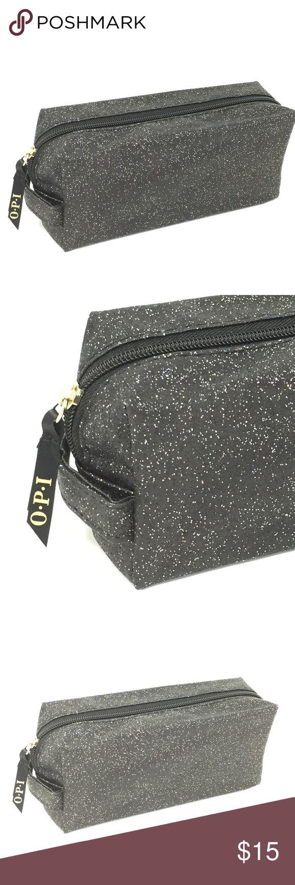 3 for 20 OPI Glitter Blk Makeup/Nail Bag Nail bags