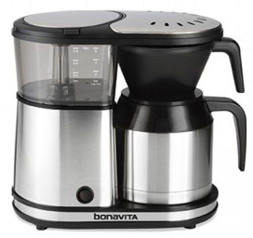 Bonavita 5-Cup Coffee Maker with Thermal Carafe - http://teacoffeestore.com/bonavita-5-cup-coffee-maker-with-thermal-carafe/