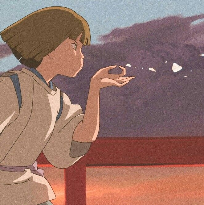 Pin By Kurihashi On Anime アニメーション Aesthetic Anime Ghibli Art Studio Ghibli Characters