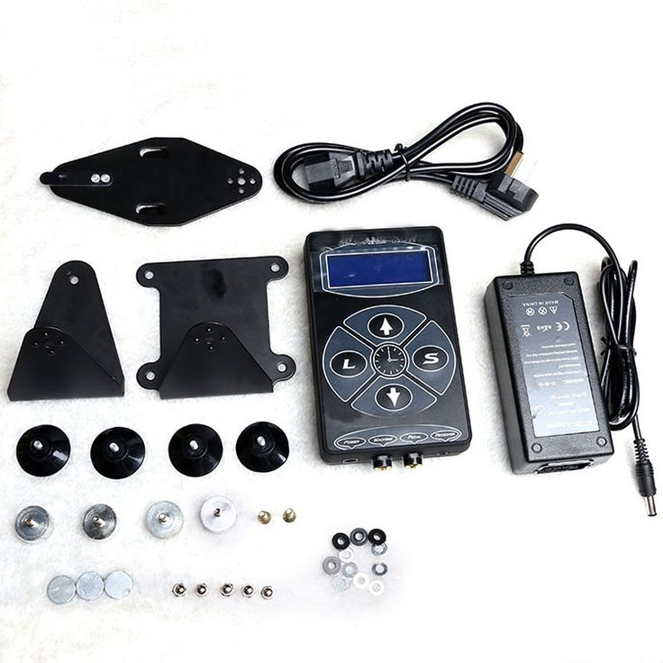 54.00$  Buy here - http://alifym.shopchina.info/1/go.php?t=32817150233 - Professional Tattoo Power Supply LCD Display Digital Power Supply Kit set for Tattoo Machines Power   #buyonlinewebsite